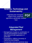 Science Technology Sustainability