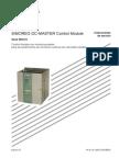 Simoreg DC-Master Control Module 6RA70 Instrucciones de Servicio Ed7 (11-2007)