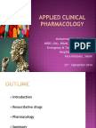 Applied Clinical Pharmacology