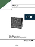 Manual BTC4300