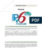 Mobilite IPv6