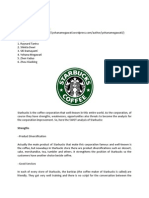 Starbucks Coffee (by Yohana Megawati)