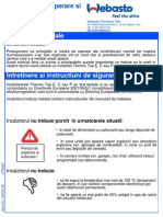 WEBASTO-RO Marine Manual Operare Ncalzitoare Stationare Thermo Top