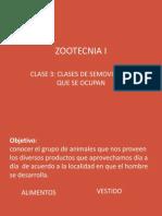Presentacion de Clases 3 y 4 de Zootecnia i