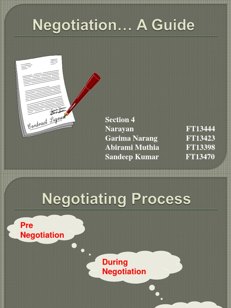 ready to use negotiation canvas template ndruc how to plan prepare