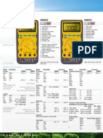 UEi Test Instruments - Multimeters DataSheet