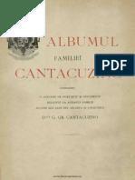 Albumul Fam Cantacuzino