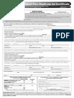 Affidavit Para Duplicado Del Certificado (2)