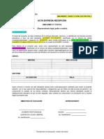 Propuesta Acta de Recepción Textos y Uniformes