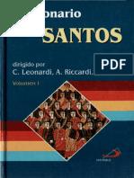 Leonardi Y Riccardi Y Zarri - Diccionario De Los Santos = 01 - A-I
