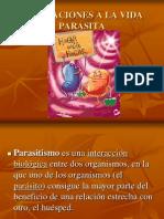 Adaptaciones a la vida parásita