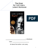 The Giver Student Workbook