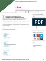 Ejercicios propuestos y resueltos programación orientado a objetos Java _ Disco Duro de Roer.pdf