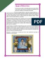 Biografía de Melchorita Saravia