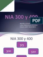 NIA 300 y 400