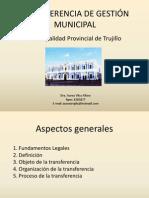 transferencia de gestion municipal 26.ppt