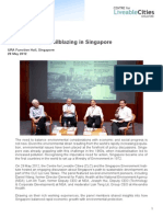 Environmental Trailblazing in Singapore Lecture Report