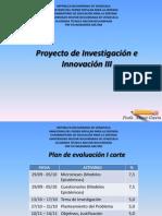 Tema de Investigación. Proyecto III