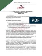 reglamento titulacion udla 2013
