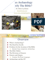 Does Archaeology Verify the Bible