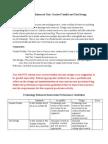 Technology Enhanced Unit Description and Expectation