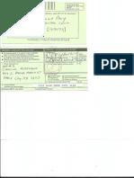 Certified Mail Receipt from Judge Korzekwa