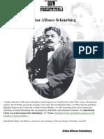 58252795 Arthur Alfonso Schomburg a Self Educated Scholar Ah OG Rbg Street Scholar