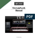 Manual Tokai TX-5 by Allex Bessa