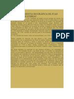 Breve Referencia Biográfica de Juan Jacobo Rousseau
