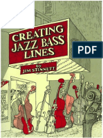 Creating Jazz Bass Lines