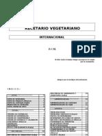 Cocina - Recetario Vegetariano Internacional