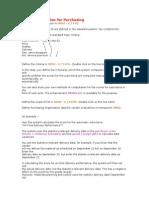Vendor Evaluation for Purchasing
