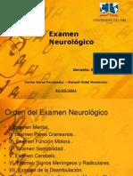 Examen Neurologico Final