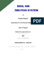 Project Documentation Sim Distribution