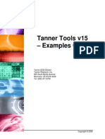 Tanner Tools Examples Guide (Japanese)