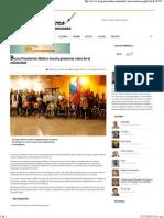 15-12-14 Busca Fundación Maloro Acosta preservar valor de la Solidaridad- Reportero