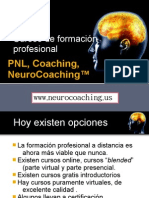 Cursos de formacion profesional en coaching y NeuroCoaching