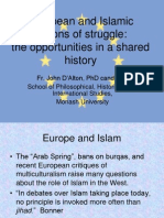 European and Islamic Notions of Struggle