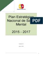 Plan Estratégico Nacional de Salud Mental Con Acuerdo