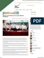 09-12-14 Firman convenio Maloro Acosta y Consejo Nacional Agropecuario