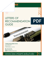 Letters Reletters-recommendation-guidecommendation Guide