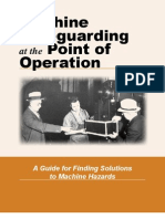 Machine Safeguarding