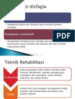 Rehabilitasi disfagia