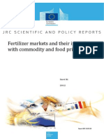 Fertilizer Markets and Their Interplay With Commodity and Food Prices_EU
