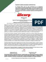 Prospecto240809, alicorp