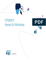 STM32F3 Hands-On Workshop