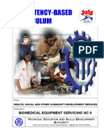 Biomedical Equipment Servicing NC II