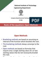 t 5 Open Methods