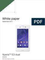 Whitepaper en d2212 Xperia e3 Dual