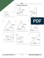 Triangle Perimeter & Area 4